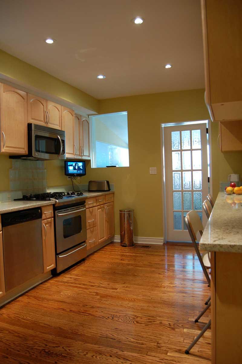 Leslieville, Toronto Renovation: Kitchen