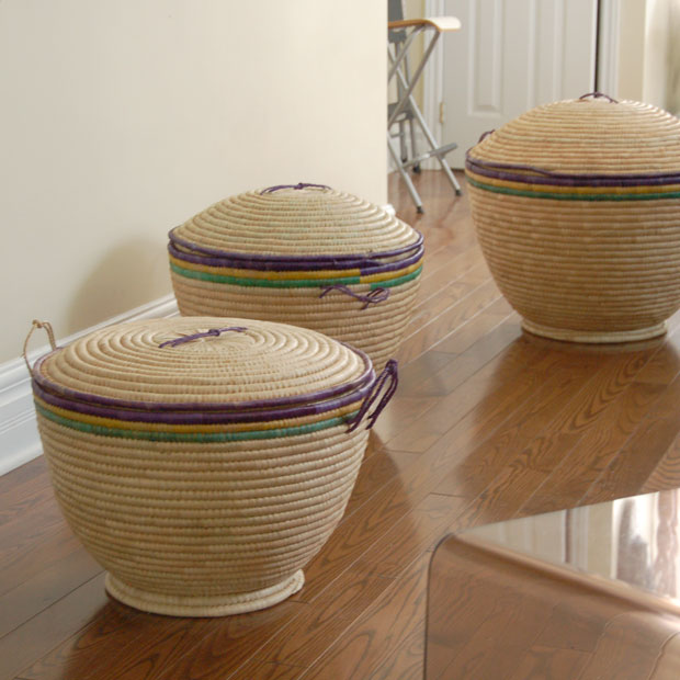 Elegant Storage Baskets from Africa