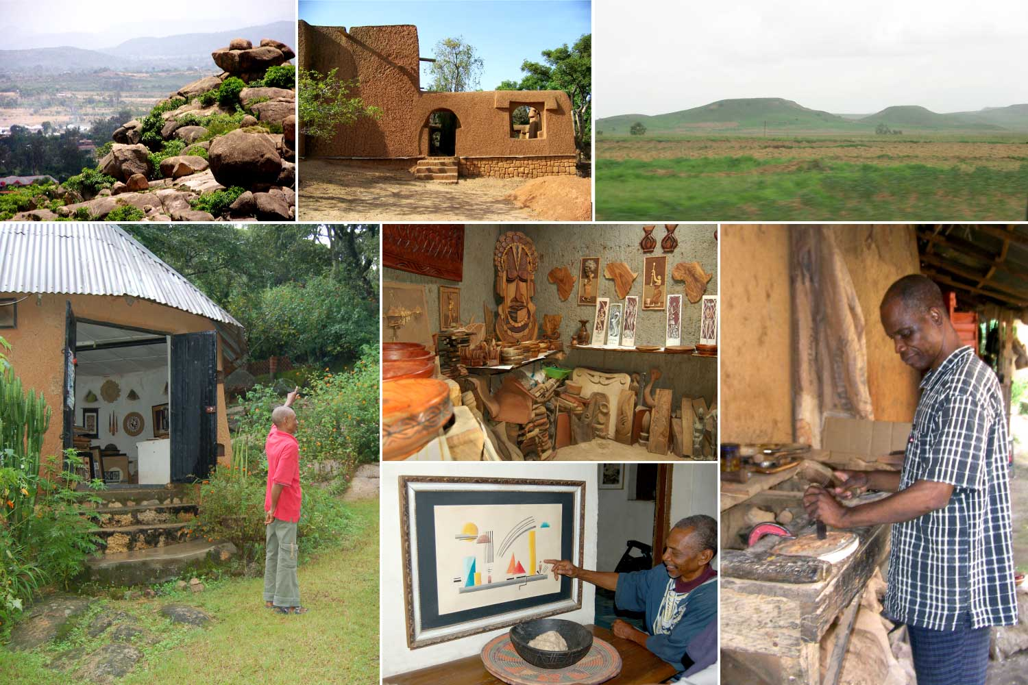 Views, Art & Traditional Architecture from Jos, Nigeria